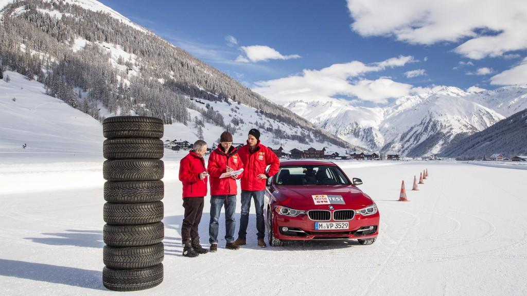 GTÜ-Winterreifentest 2015